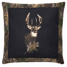 <strong>Browning</strong> Camo Deer Cotton Square Pillow