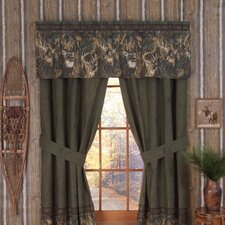 Whitetails Lined Drape Panel (Set of 2)