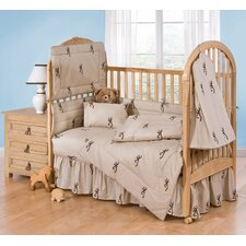 Buckmark 2 Piece Crib Bedding Set