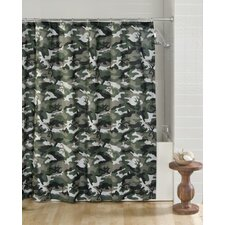 Buckmark Camo Cotton Blend Shower Curtain