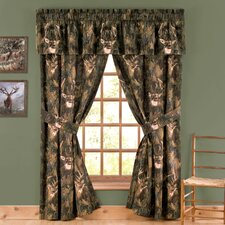 Camo Deer Window Treatment Collection