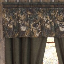 "Whitetails 63"" Curtain Valance"