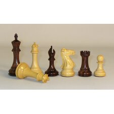 Rosewood Stallion Knight Double Queen Chessmen
