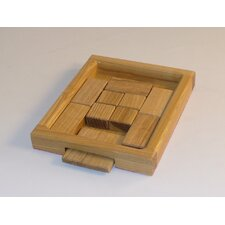 <strong>Square Root Games</strong> Square Root Wood Puzzle Game