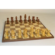 Small Sheesham French-Walnut Chess Board