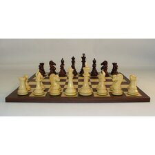 <strong>WorldWise Chess</strong> Rosewood New Classic Chess Set