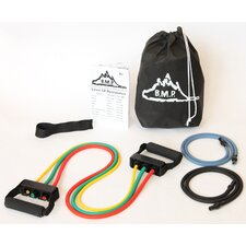 <strong>Black Mountain Products</strong> Five Resistance Bands Set