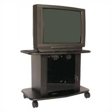 "Acero 32"" Tall Single Platform Cart  for 36"" TVs"