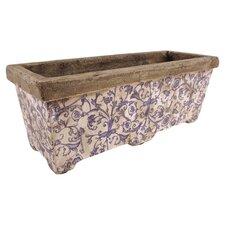 Aged Ceramic Planter