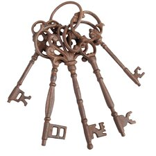 Cast Iron Garden Keys