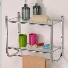 <strong>Control Brand</strong> Control Brand Two tiered Glass Bath Organizer