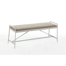 The Nordland Metal and Fabric Bench