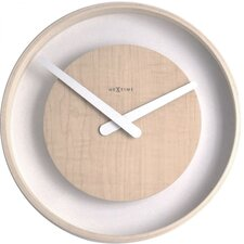 "11.81"" Wood Loop Wall Clock"