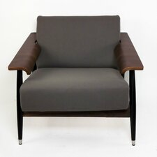 <strong>Control Brand</strong> Sean Dix Single Seater Dowel Fabric Lounge Chair