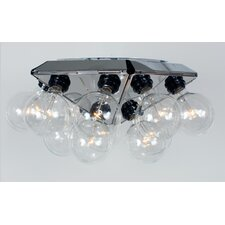 Hollywood 88 15 Light Flush Mount
