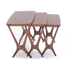 Hein 3 Piece Nesting Tables