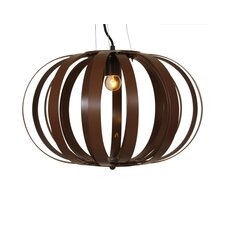Birds Nest 1 Light Globe Pendant