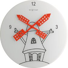 "11.81"" Windmill Wall Clock"