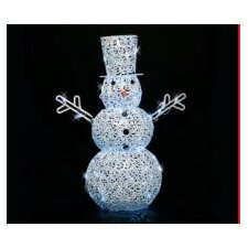 <strong>LB International</strong> LED Scroll Snowman