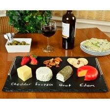 Sardo Plus Rectangle Slate Tray