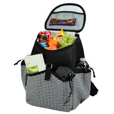 Houndstooth Backpack Cooler
