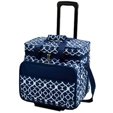 Trellis Picnic Cooler for Four on Wheels