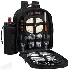 Classic Picnic Backpack with Two Place Settings