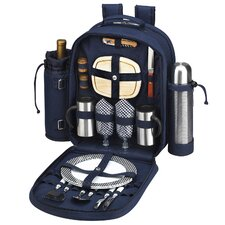 Bold Coffee and Picnic Backpack for Two