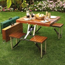 <strong>Picnic At Ascot</strong> Picnic Table Set
