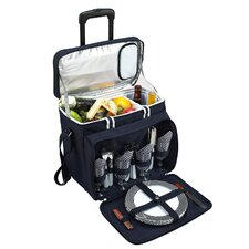 <strong>Picnic At Ascot</strong> Bold Picnic Cooler for Four with Wheels