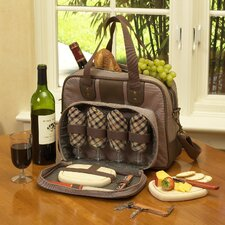 <strong>Picnic At Ascot</strong> Wine and Cheese Cooler For Four