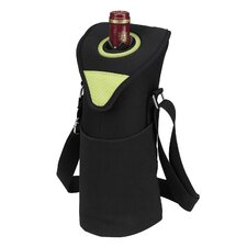 Neo Single Bottle Tote in Apple