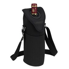 Neo Single Bottle Tote in Black