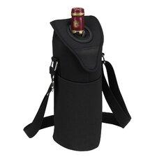 Neo Single Bottle Tote in Black