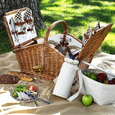 <strong>Picnic At Ascot</strong> Huntsman Basket for Four in London