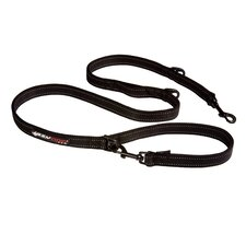 Vario 6 Snap Clip Dog Leash in Black