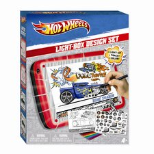 Hot Wheels Light Box Design Set