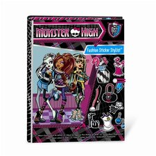 <strong>Fashion Angels</strong> Monster High Fashion Sticker Stylist