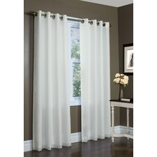 Thermavoile Lined Grommet Curtain Single Panel