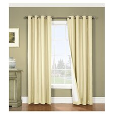Nantucket Cotton Grommet Window Curtain Single Panel