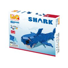 <strong>LaQ USA</strong> Marine World 175 Piece Shark Puzzle