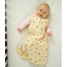 100% Organic Cotton SleepSack™ Wearable Blanket in Yellow with Tea Cup Print