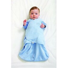 Microfleece SleepSack Swaddle in Blue (Small)
