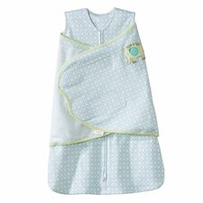 <strong>HALO Innovations, Inc.</strong> SleepSack Swaddle 100% Cotton, Elephant Embroidery
