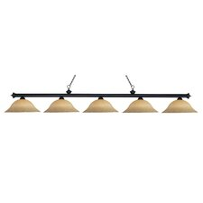 Riviera 5 Light Pendant