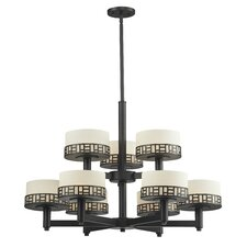 Elea 9 Light Drum Chandelier