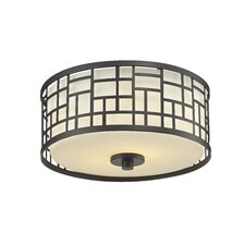 Elea 2 Light Flush Mount
