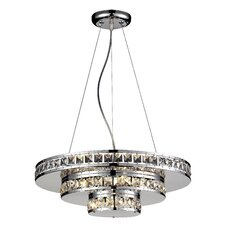 Ariel 5 Light Crystal Chandelier