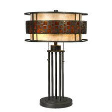 "Milan 22"" H Table Lamp with Drum Shade"
