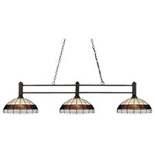 Challenger 3 Light Billiard Pendant